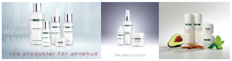 DMK Ansiktsbehandling hudvårds produkter